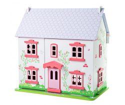 Domek pro panenky Bigjigs Toys Růžový