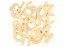Dřevěná abeceda Bigjigs Toys Malá písmena