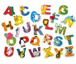 Dřevěná abeceda Small Foot 1ks