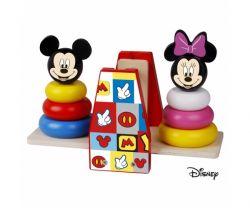 Dřevěná balanční hra Derrson Disney Mickey a Minnie