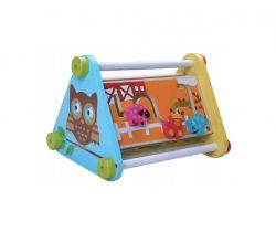 Dřevěná edukační hračka EcoToys Sovička