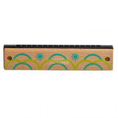 Dřevěná harmonika Lucy&Leo