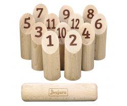 Dřevěná házecí hra Jeujura Bowling