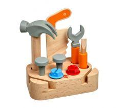 Dřevěná herní sada Lucy&Leo Little Carpenter