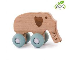 Dřevěná hračka Bo Jungle B-Woody Elephant