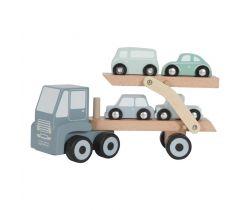 Dřevěná hračka Little Dutch Přepravník