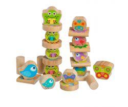Dřevěná hračka Lucy&Leo Balancer Little Friends