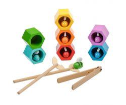 Dřevěná hračka Lucy&Leo Beehives Game