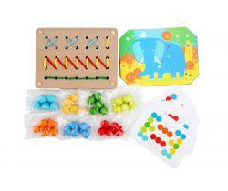 Dřevěná hračka Lucy&Leo Color Mosaic