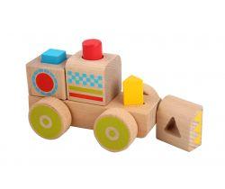 Dřevěná hračka Lucy&Leo Smart Truck Block Sorter