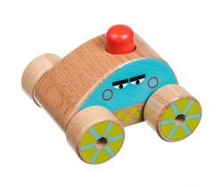 Dřevěná hračka Lucy&Leo Squeaker Car