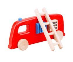 Dřevěná hračka Lupo Toys Fire Truck