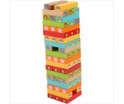 Dřevěná Jenga věž Lucy&Leo Guess Who