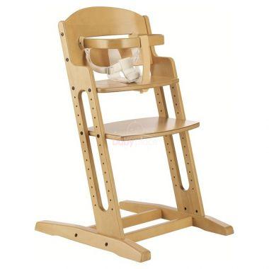 Dřevěná jídelní židlička BabyDan DanChair