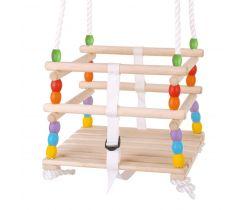 Dřevěná korálková houpačka Bigjigs Toys