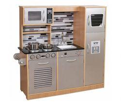 Dřevěná kuchyňka Derrson XXL Modern Natural