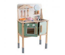 Dřevěná kuchyňka s příslušenstvím Jouéco