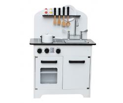 Dřevěná kuchyňka Wooden Toys Deluxe White