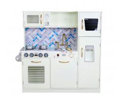 Dřevěná kuchyňka Wooden Toys Modern Cream