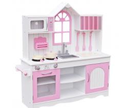 Dřevěná kuchyňka Wooden Toys Retro Pink