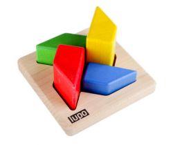 Dřevěná skládací hračka Lupo Toys Fan