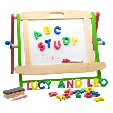 Dřevěná vzdělávací tabule Lucy&Leo