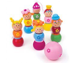 Dřevěné kuželky Bigjigs Toys Víly