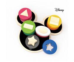 Dřevěné motorické tvary Derrson Disney Mickey