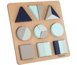 Dřevěné puzzle Kindsgut Lucas