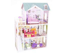 Dřevěný domeček pro panenky EcoToys Beverly Hills