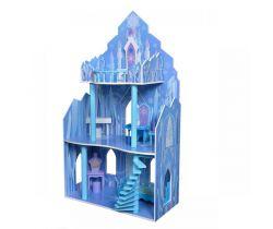 Dřevěný domeček pro panenky EcoToys Frozen