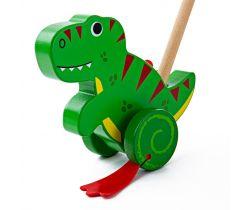 Dřevěný jezdík Bigjigs Baby T-Rex