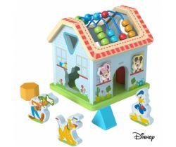 Dřevěný motorický domeček Derrson Disney Mickeyho svět
