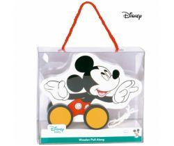 Dřevěný tahací Mickey Mouse Derrson Disney