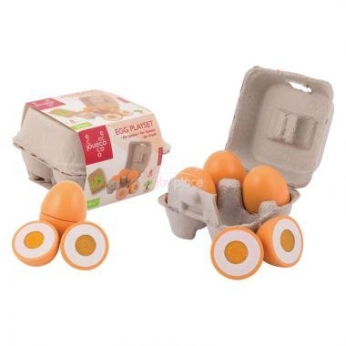Dřevěný vaječný set 9ks 24m+ Jouéco
