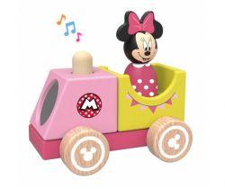 Dřevěný vláček s Minnie Derrson Disney