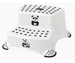 Dvojstupínek k WC/umyvadlu Keeeper Panda