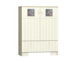 Dvoudveřová skříňka se šuplíkem Faktum Kamilla Toscana