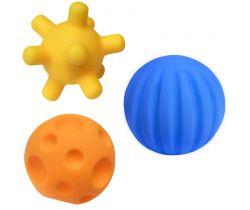 Edukační míčky 3 ks Hencztoys
