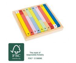 Edukativní barevná tabulka Small Foot
