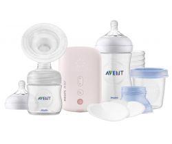 Elektrická odsávačka mateřského mléka Avent Single Sada