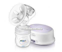 Elektronická odsávačka mateřského mléka Avent Natural 332/01