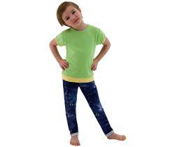 Dětské tričko jednobarevné vel. 98 - 116 - zelená / 116  ESITO