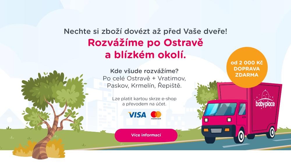 Rozvoz - Ostrava