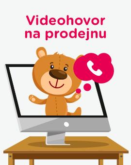 Videohovor na prodejnu
