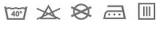 Prací symboly - Baby Matex Maxi Bambo