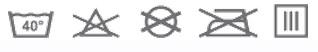 Prací symboly - Baby Matex Bambo žinka