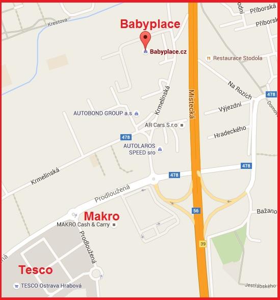 Babyplace Ostrava - Krmelínská 2, Ostrava, 7200