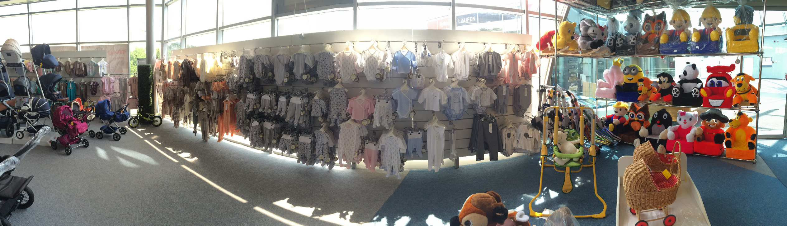 Babyplace - velký výběr textilu