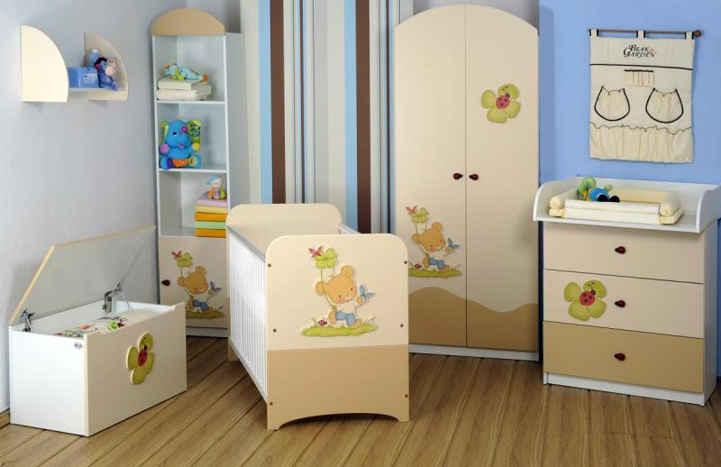 Gluck - kompletní nábytek Bear in Garden